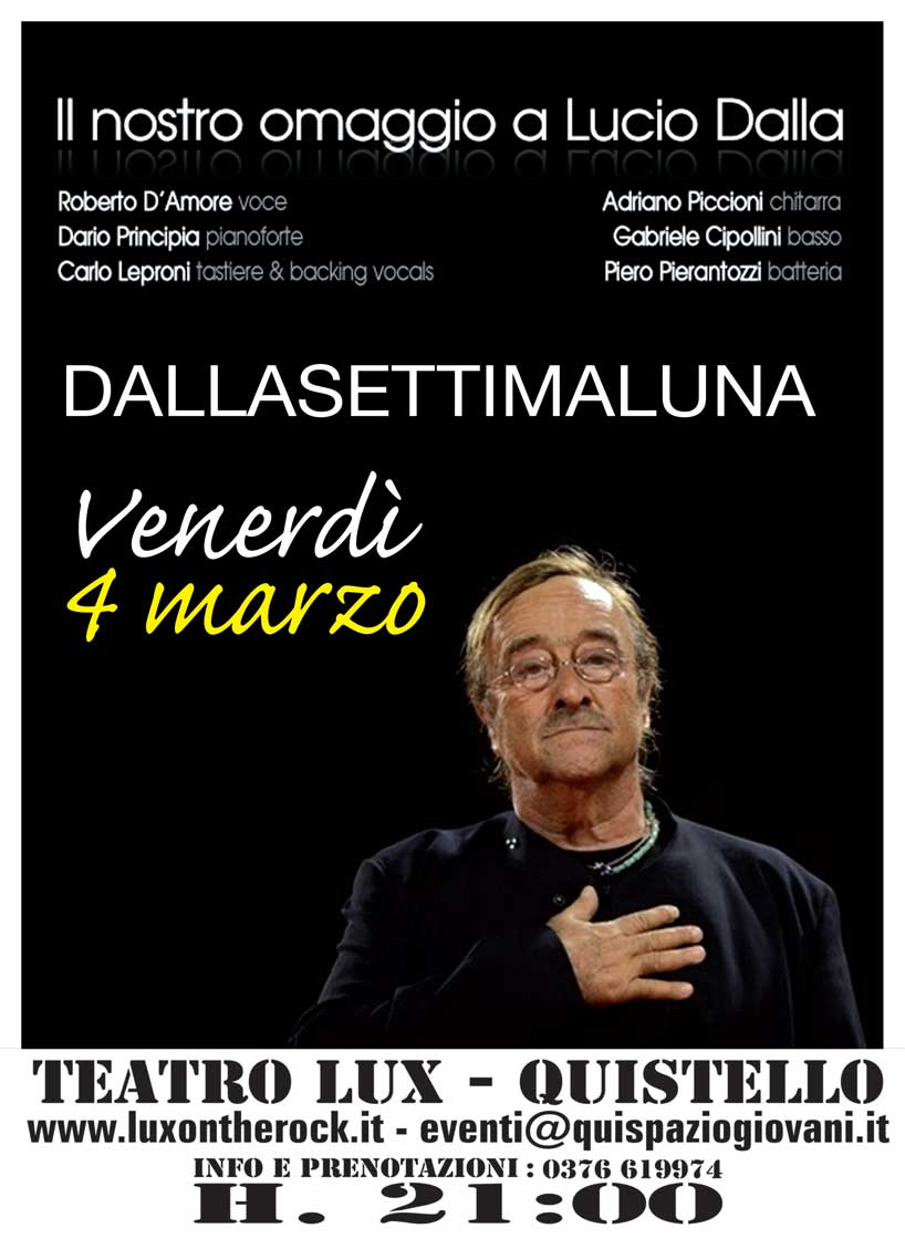 Cover Band Tributo a Lucio Dalla