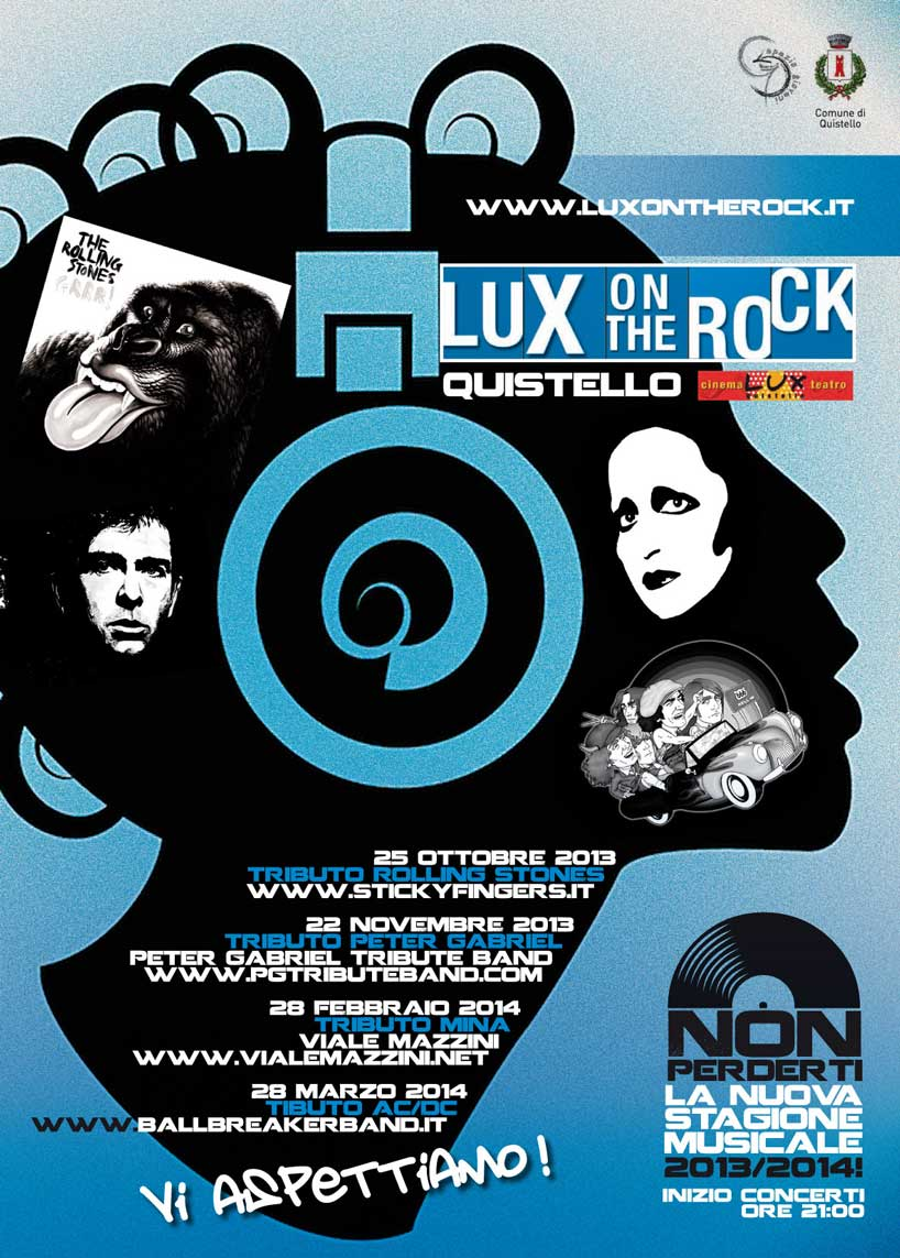 Locandina Lux on the rock 2013/2014