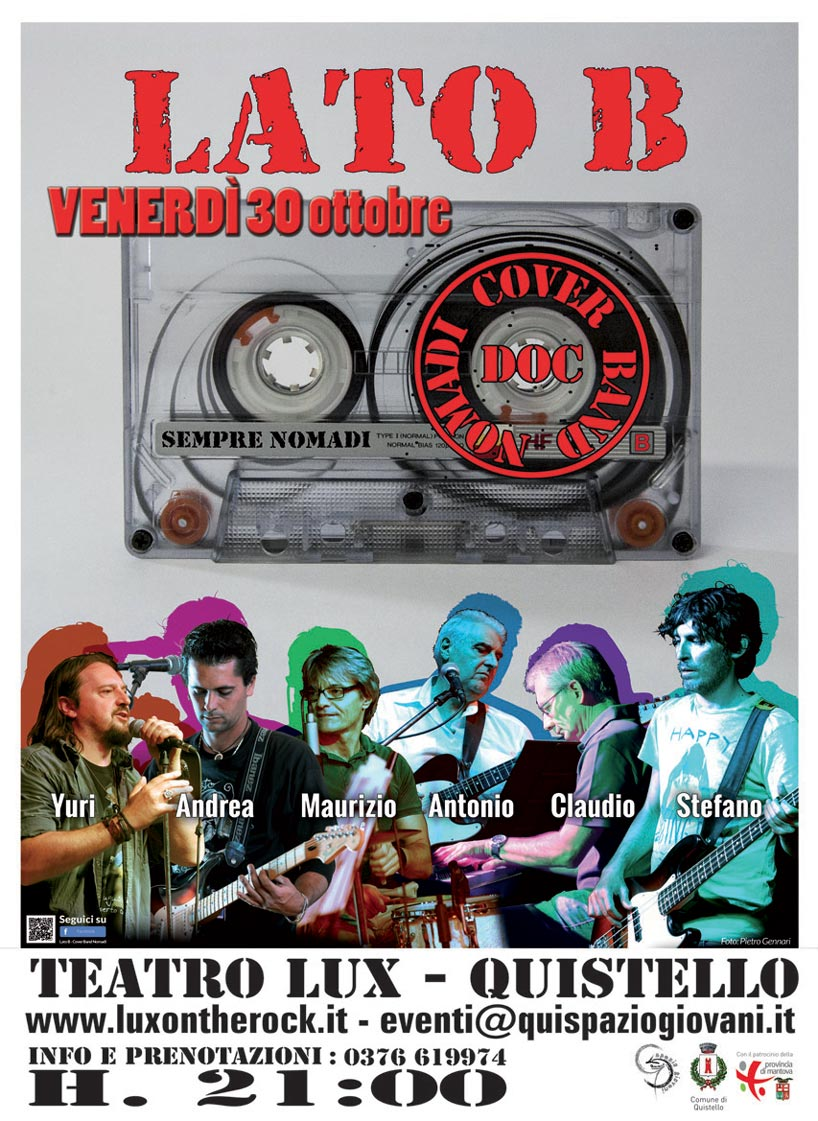 Cover Band NOMADI a Quistello