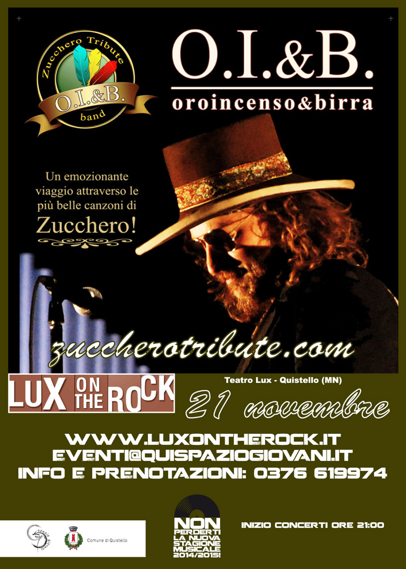 Cover Band Zucchero